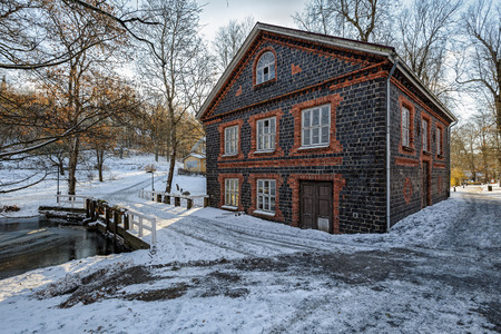 Snow Covered Spring Mill Inn - Picture of Spring Mill Inn ...