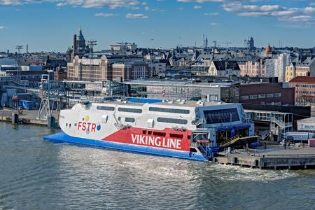 Schnellfährekatamaran FSTR Express Der Ladung-Passagier Durch Viking ...