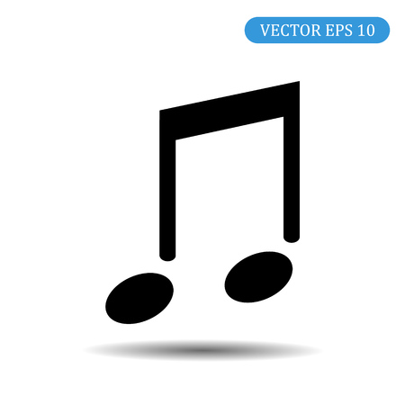 Note icon. Vector illustration