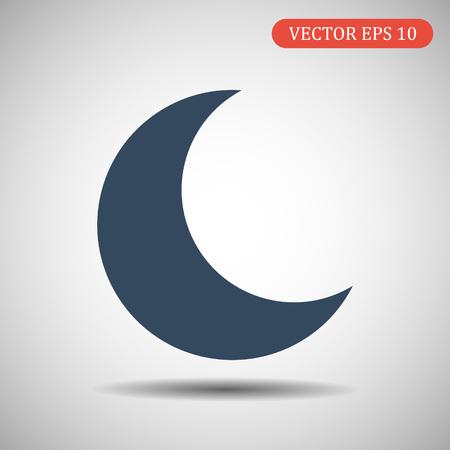 Moon icon. Vector illustration 일러스트