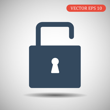 Lock icon. Modern vector icon.