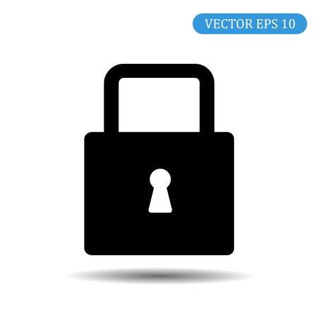 Lock icon. Modern vector icon.eps 10 Ilustração