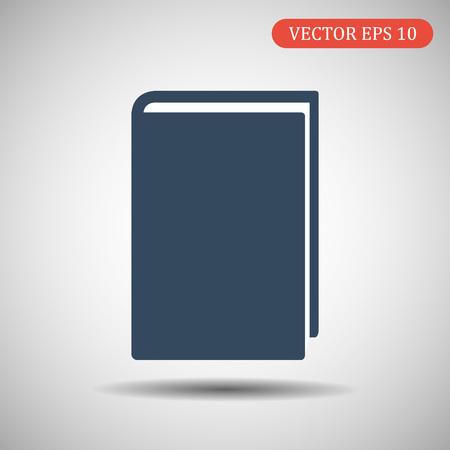 Book Icon. Vector illustration eps 10. Ilustração