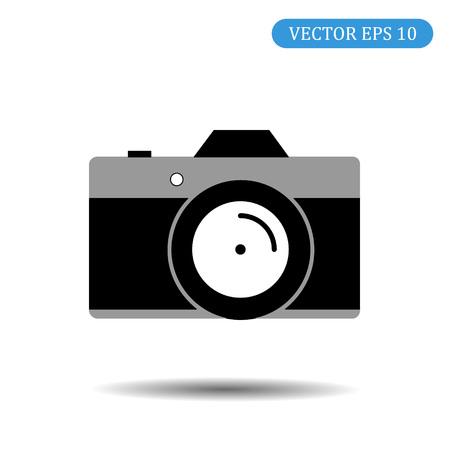 camera icon.vector illustration.eps 10. Ilustração
