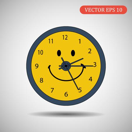 clock icon.vector illustration eps 10.