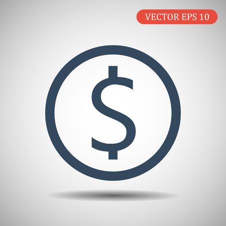 Money vector icon.