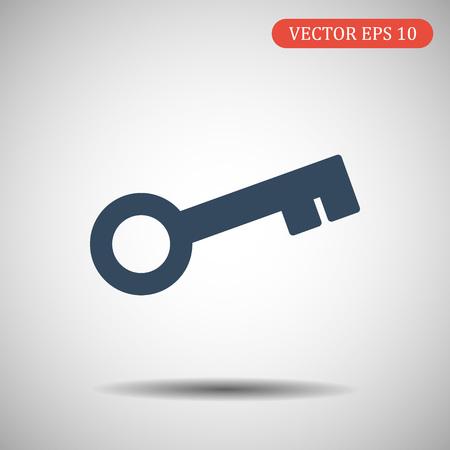 Key vector icon.