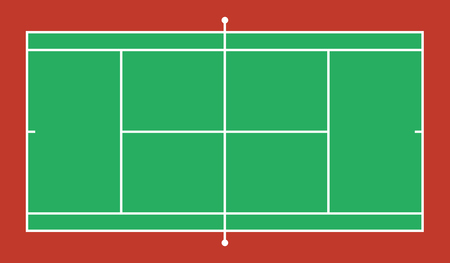 tennis court background. vector illustration eps 10.