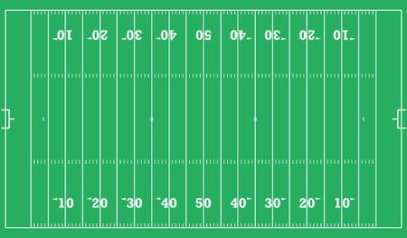 american football field background. vector illustration eps 10.