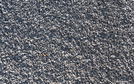 crushed: Crushed stone macadam, rubble