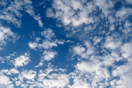 cirrus: Cirrus clouds in blue sky