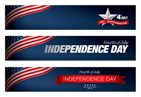 independence day 4 th july. Happy independence day Vektoros illusztráció