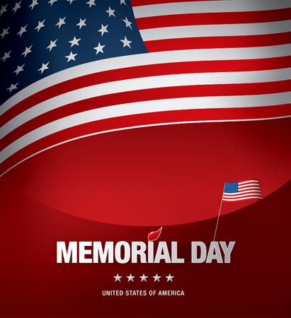 celebration background: memorial day