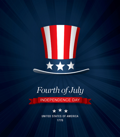 day: independence day 4 th july. Happy independence day