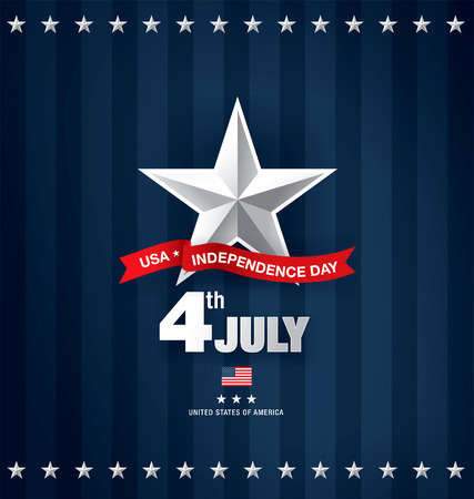fourth july: independence day fourth of july Illustration
