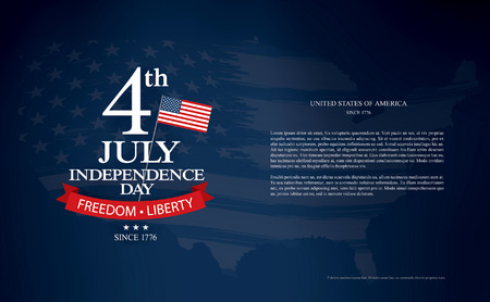 independence day fourth of july Illustration