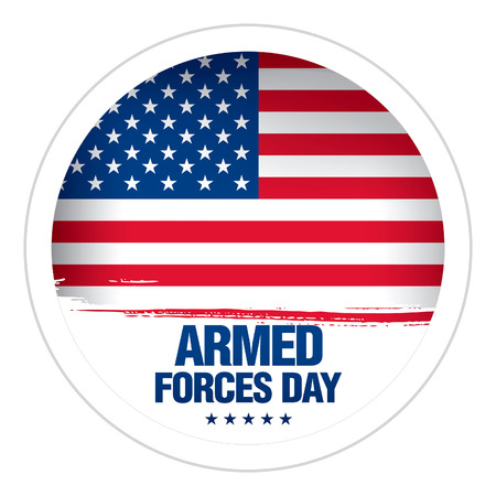 forces: Armed forces day template badge