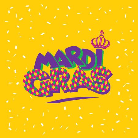 mardi: Mardi Gras. Vector illustration Illustration