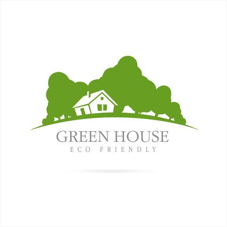 la casa del eco. casa verde