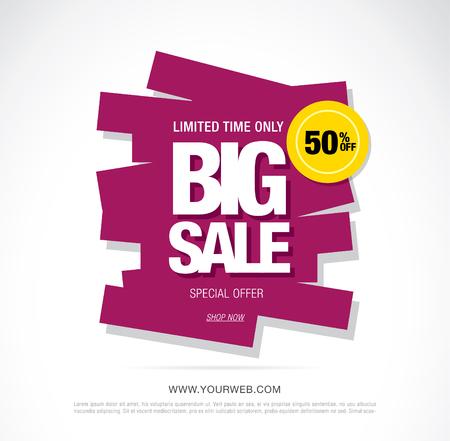 bright vector sale banner