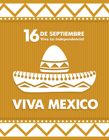 16: 16 th of September. Happy Independence day! Viva Mexico!