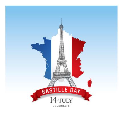 the bastille: France. 14 th July. Bastille Day.