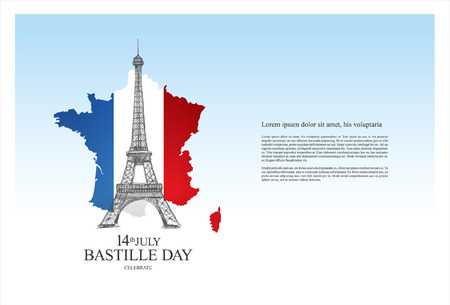 bastille: France. 14 th July. Bastille Day.