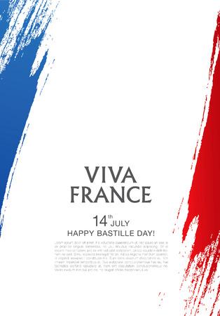 フランス。14 日 7 月。フランス革命記念日。