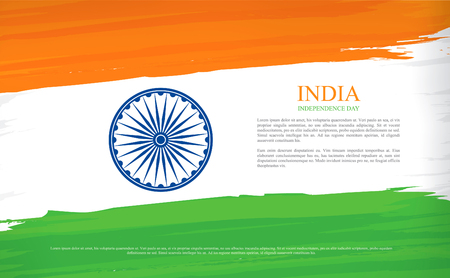 august: independence day. india. 15th of august.