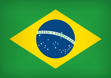 federative republic of brazil: National flag of the Federative Republic of Brazil Illustration
