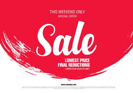 Sale banner, poster. Sale sfondo. vendita tag