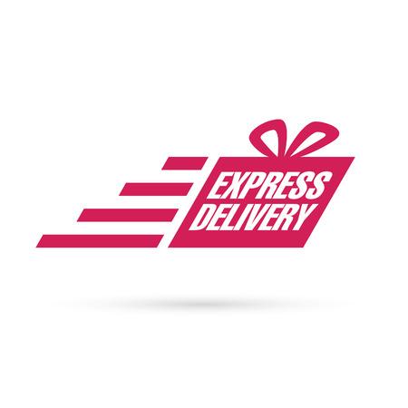 express: express delivery sign Illustration