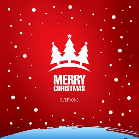 greeting christmas: Merry Christmas. Christmas greeting card