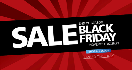 tally: Black friday sale. Banner