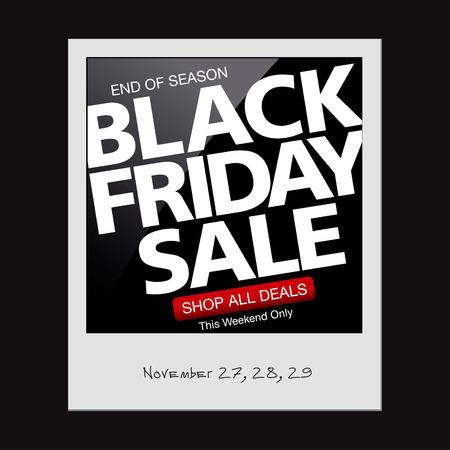 snapshot: Black friday sale. Snapshot