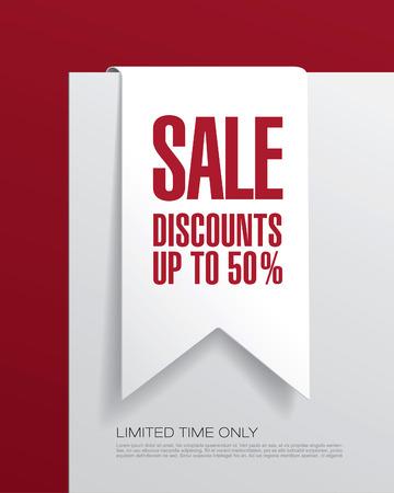 discount banner: Sale discount. Tag. Banner. Label. Sticker.