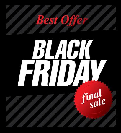 tally: Black friday sale. Web banner