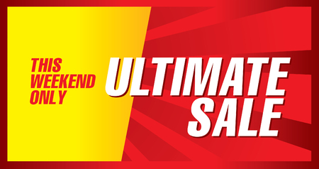 Ultimate sale poster