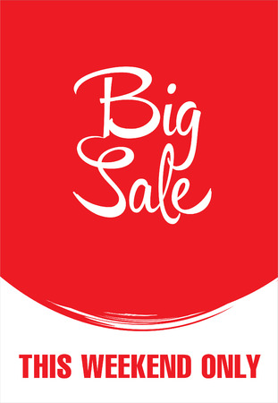 summer sale: Big sale poster