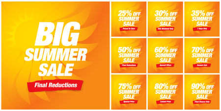 hot summer: hot summer sale banner
