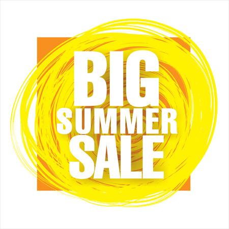 tally: summer sale Illustration