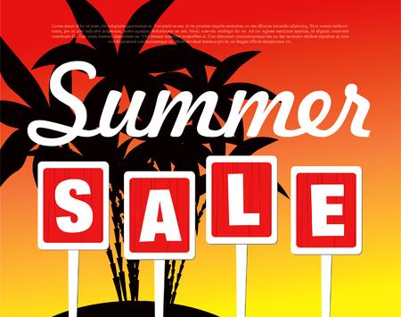 夏販売バナー