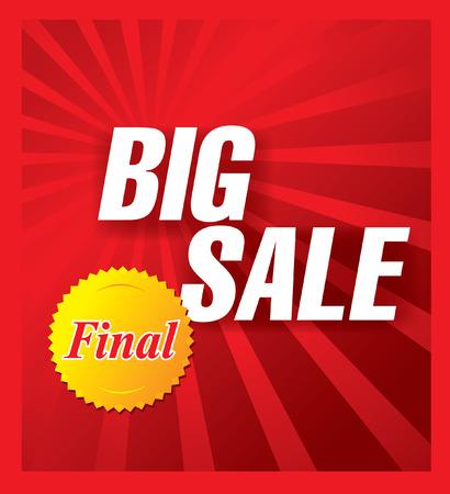 big sale: big sale banner
