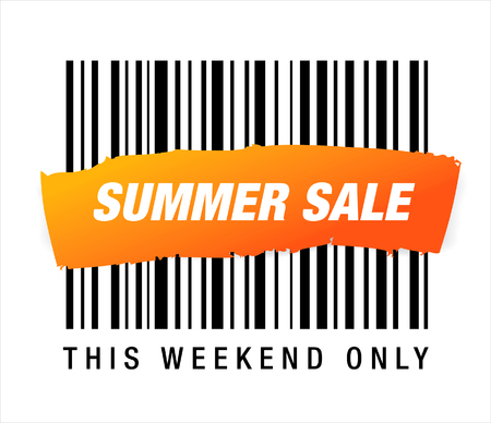Summer sale barcode
