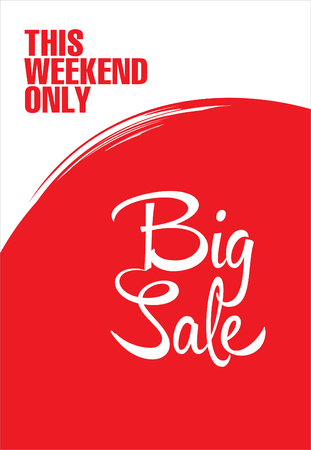 big sale: Big sale poster