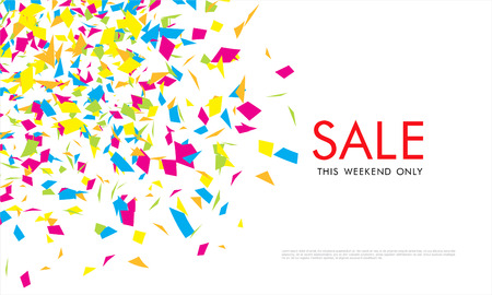 tally: Sale. Vector banner design