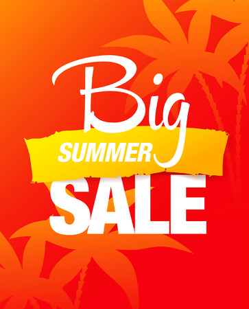 summer sale: big summer sale