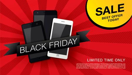 mega phone: Black friday Sale banner