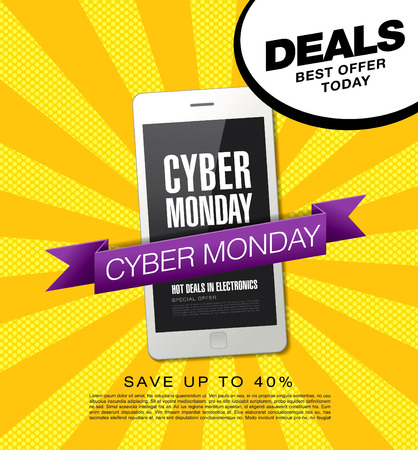 Cyber ??monday sale. Banner