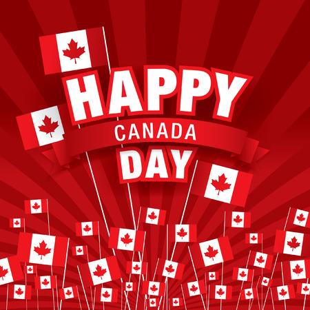 7 월 첫째. 해피 캐나다의 날!